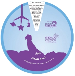 Image of Arabic Child Development Wheel